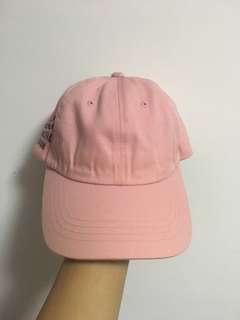 assc 粉紅色 帽子 8成新