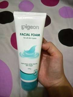 Pigeon facial foam [all skin types]