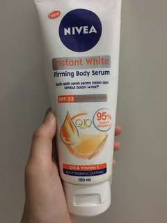 Nivea Instant White Body lotion