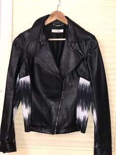 Genuine Versace Leather jacket