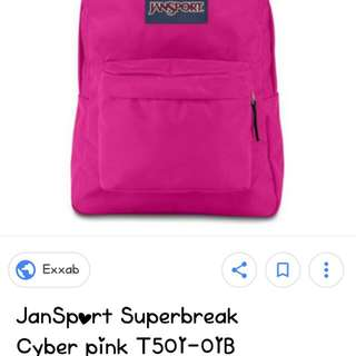 Jansports Backpack (small Size)