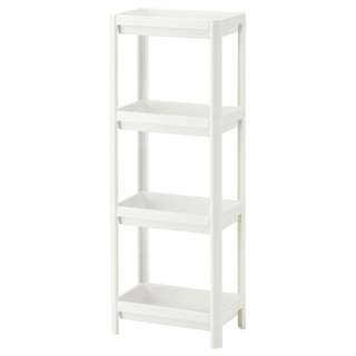 IKEA VESKEN Shelf unit, white