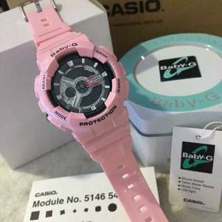 BABY G BA110 CANDY PINK