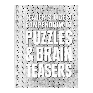 Compendium of Puzzles & Brain Teasers ~ Brand New