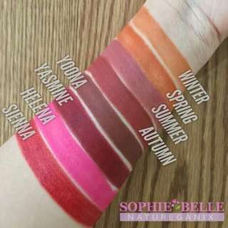 SOPHIE BELLE ORGANIC TINTED LIPBALM