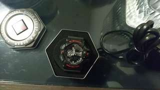 G-SHOCK RED AND BLACK