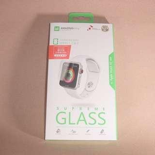 Apple Watch 42mm 香港行貨 雙效能全覆蓋螢幕 鋼化玻璃保護貼