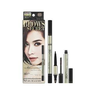 Mistine Brow Secret 3D - No. 03 (grey brown)