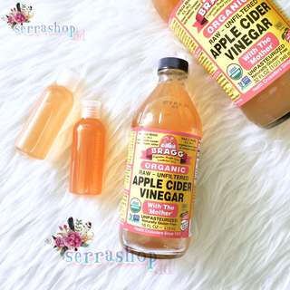 Bragg Apple Cider Vinegar (share size) / Cuka Apel