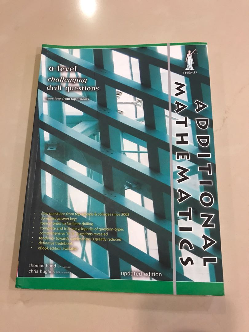 A math o-level challenging drill questions (yellow reef), Books ...