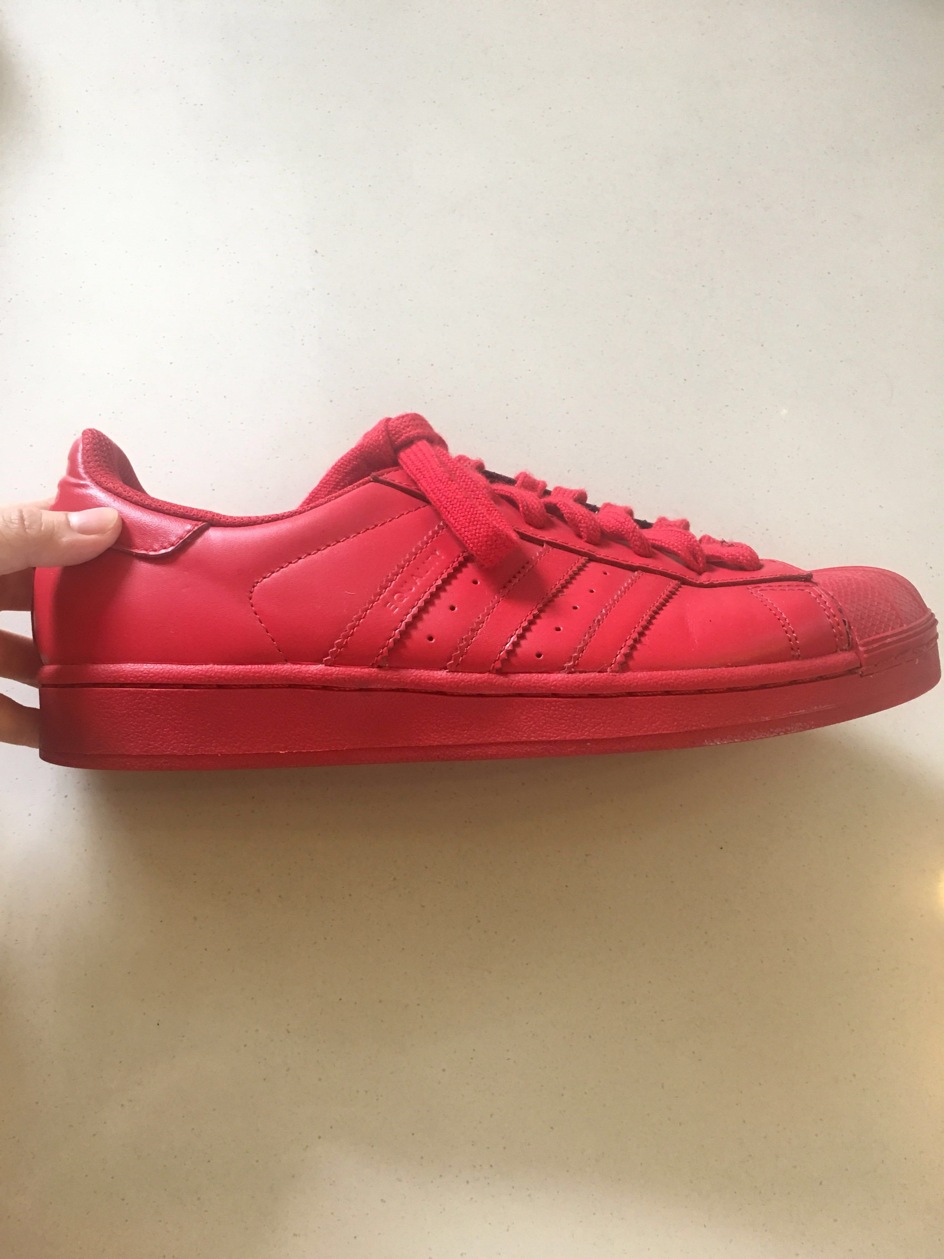 best service 9598b 1dfe0 Adidas Equality Red