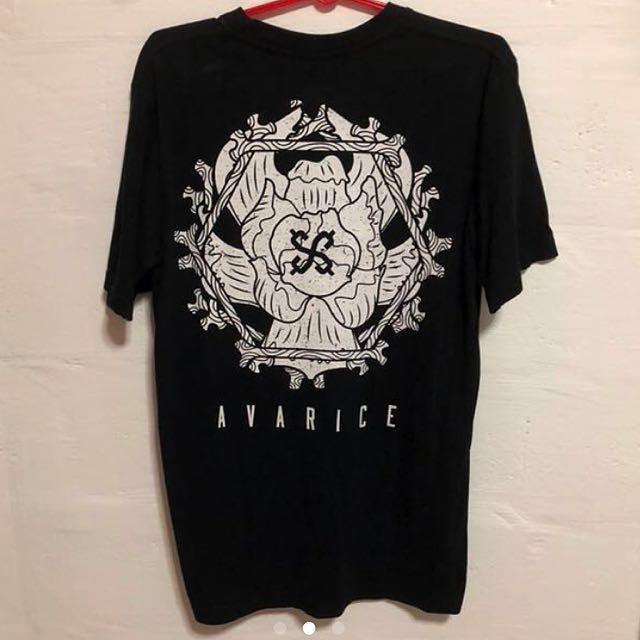 Avarice Peony Tee/Tshirt