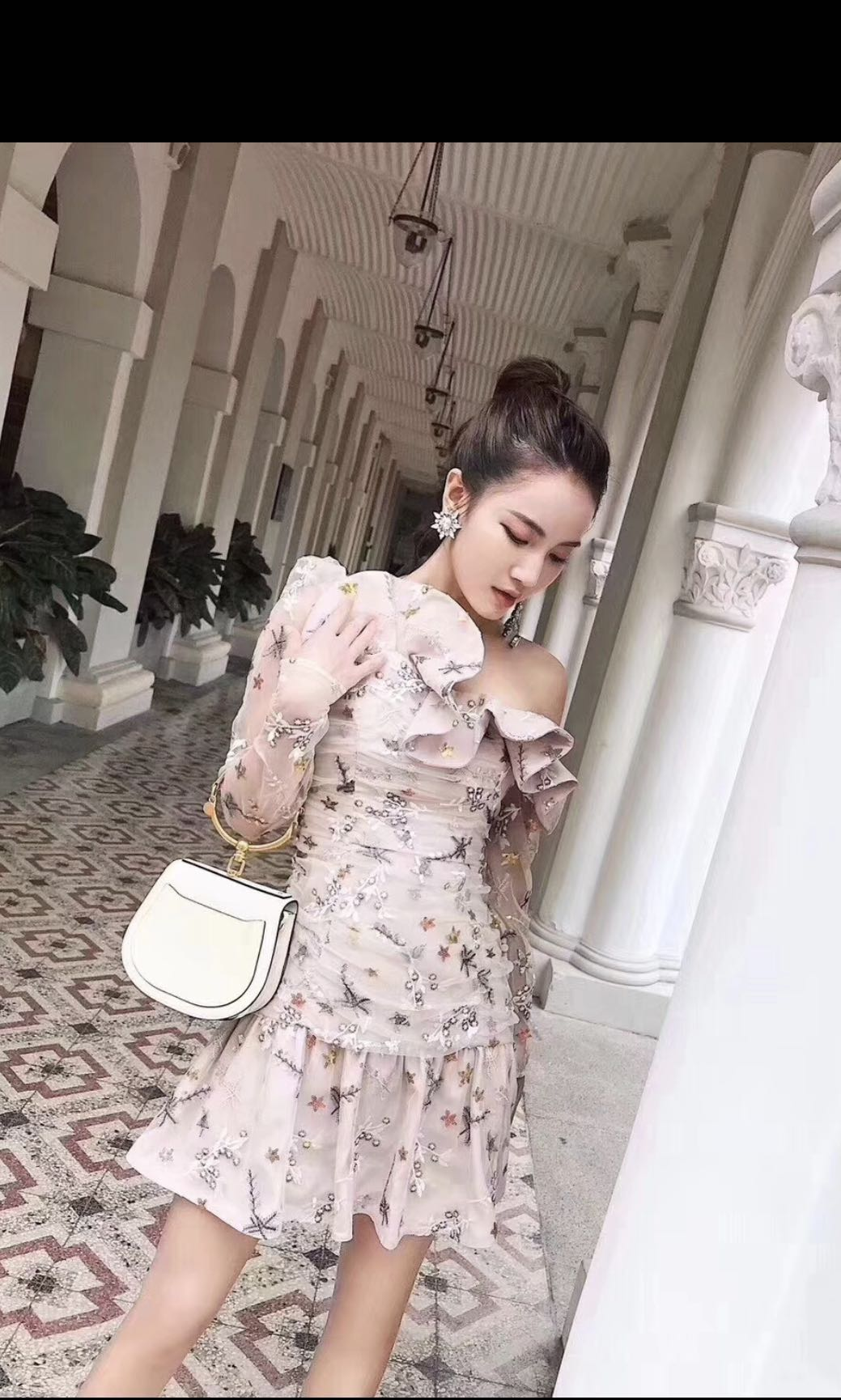 2fcb3cd1c55e BNWT Authentic Self Portrait Almond Star Embroidered Dress, Women's  Fashion, Clothes, Dresses & Skirts on Carousell