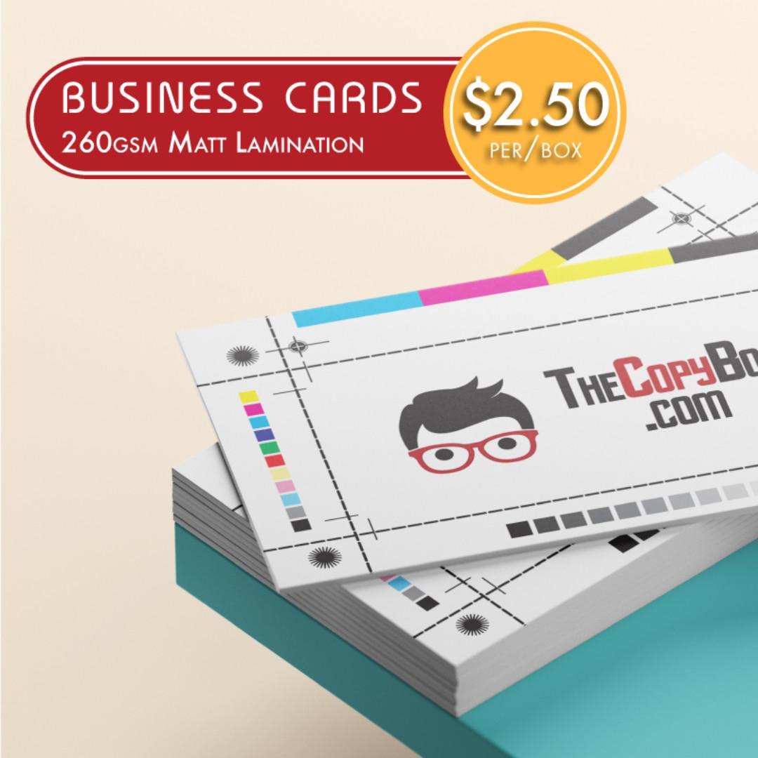 Business card printing from 250box full colour matt laminated photo photo photo reheart Choice Image