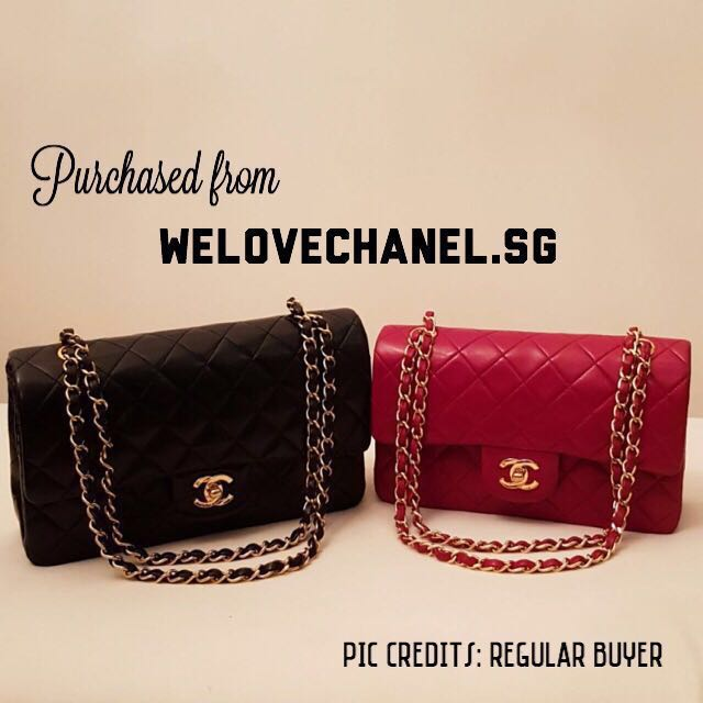 9a7e4e41706d Buyer s Pic  Authentic Chanel Classic Flap Bags 😊