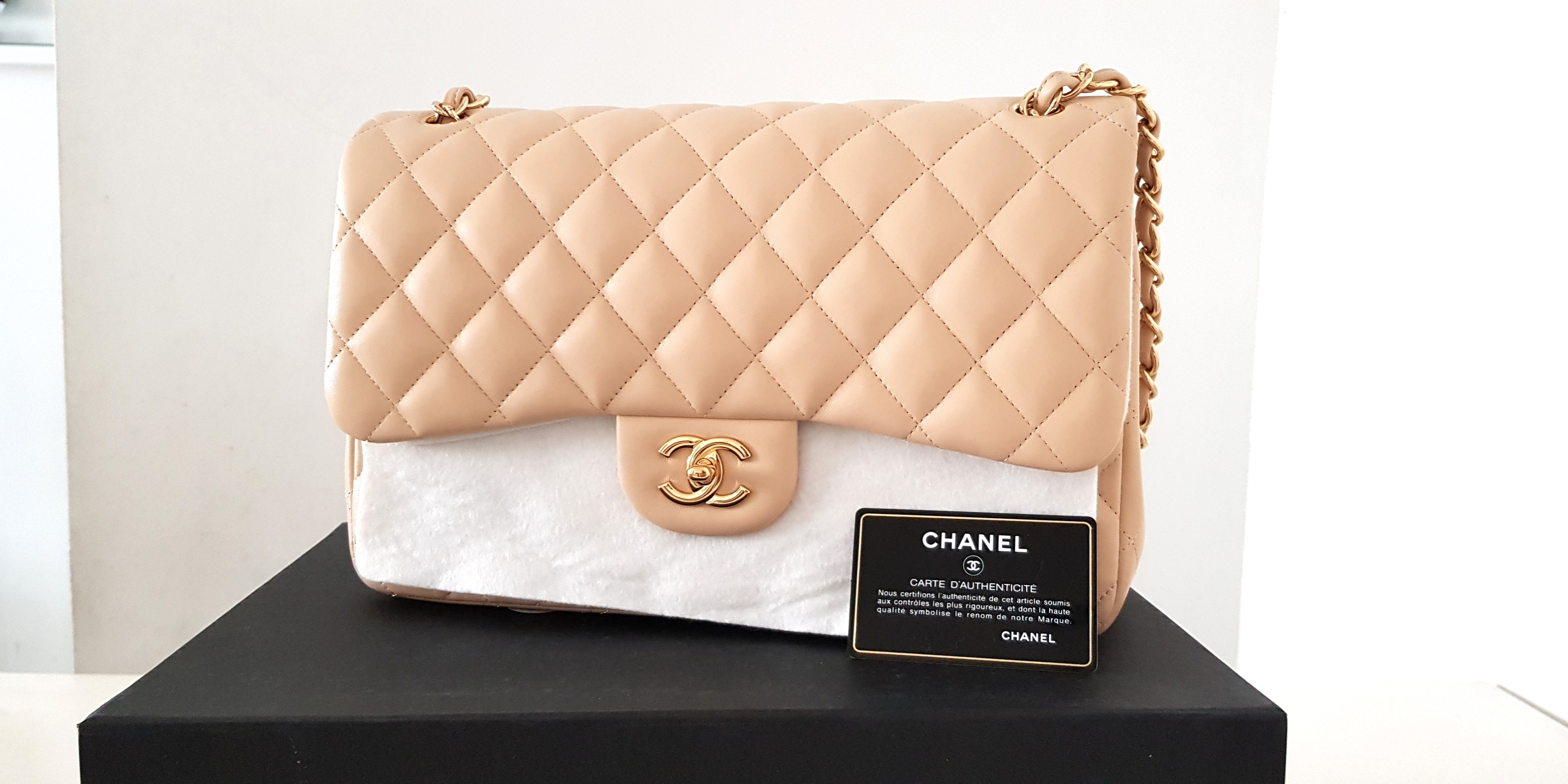 a1aded3e9c1ea2 Chanel classic jumbo, Luxury, Bags & Wallets, Handbags on Carousell