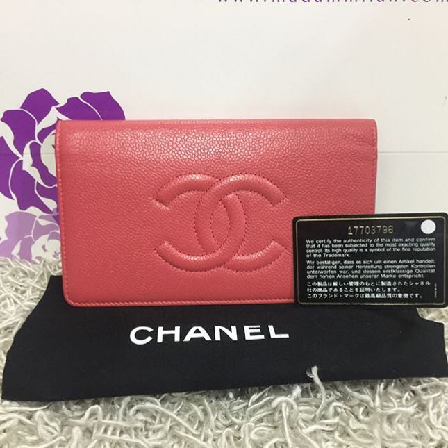 9098ae89b7a8 Chanel Timeless CC Caviar Yen Wallet, Luxury, Bags & Wallets ...