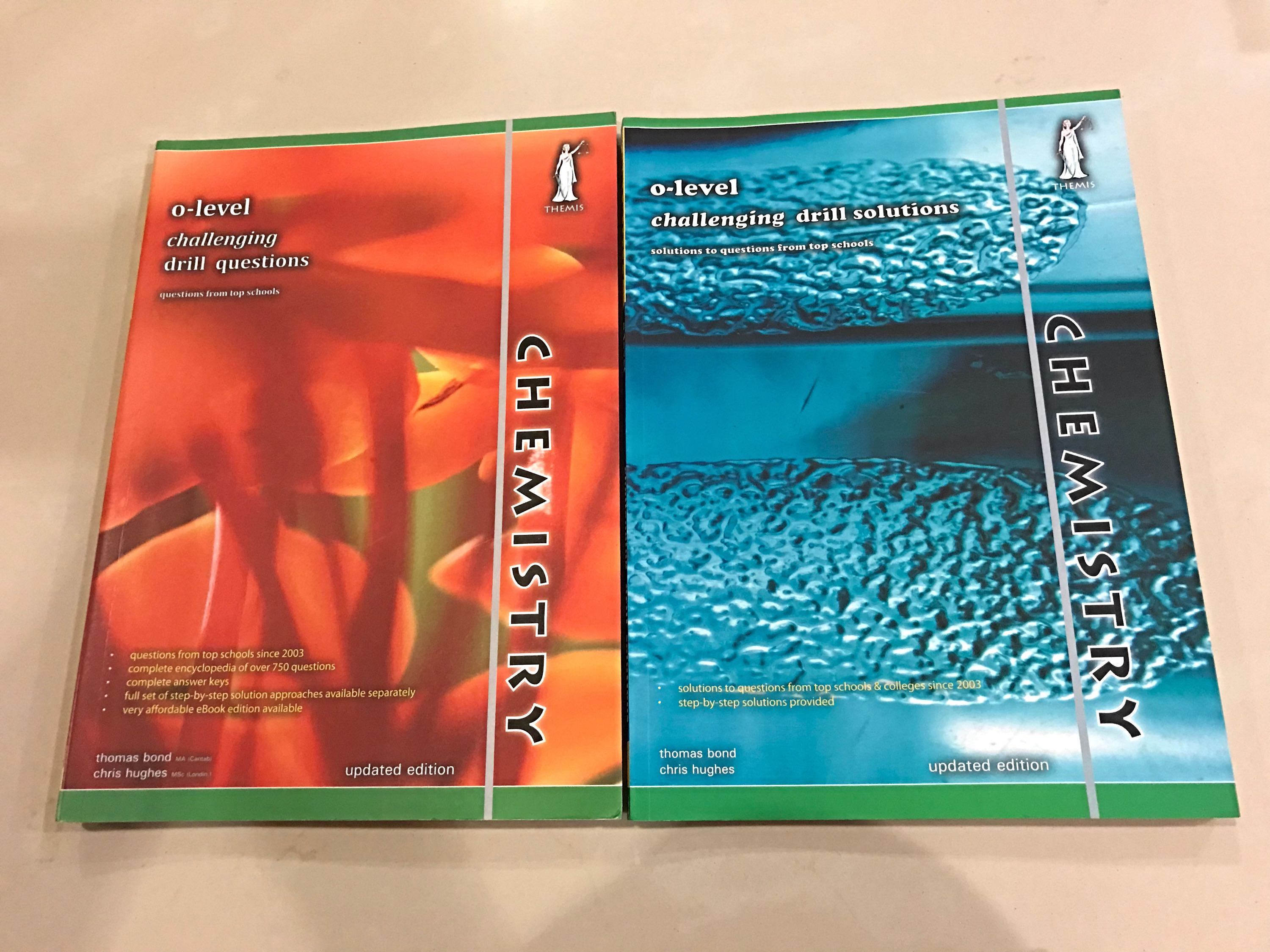 Chemistry o-level challenging drill questions (yellow reef), Books ...