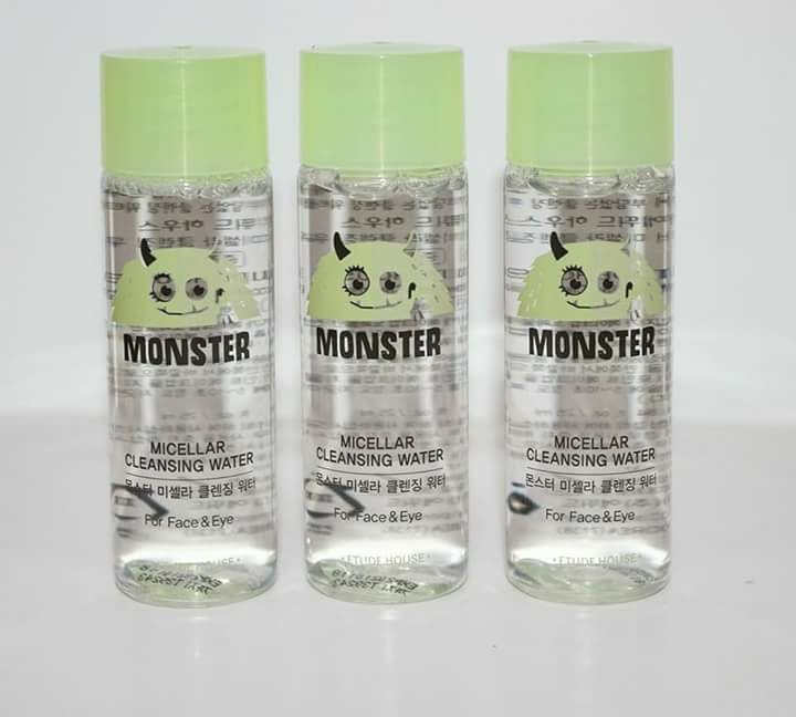 ETUDE HOUSE Monster Micellar Cleansing Water 25ml, Health & Beauty, Skin, Bath, & Body on Carousell