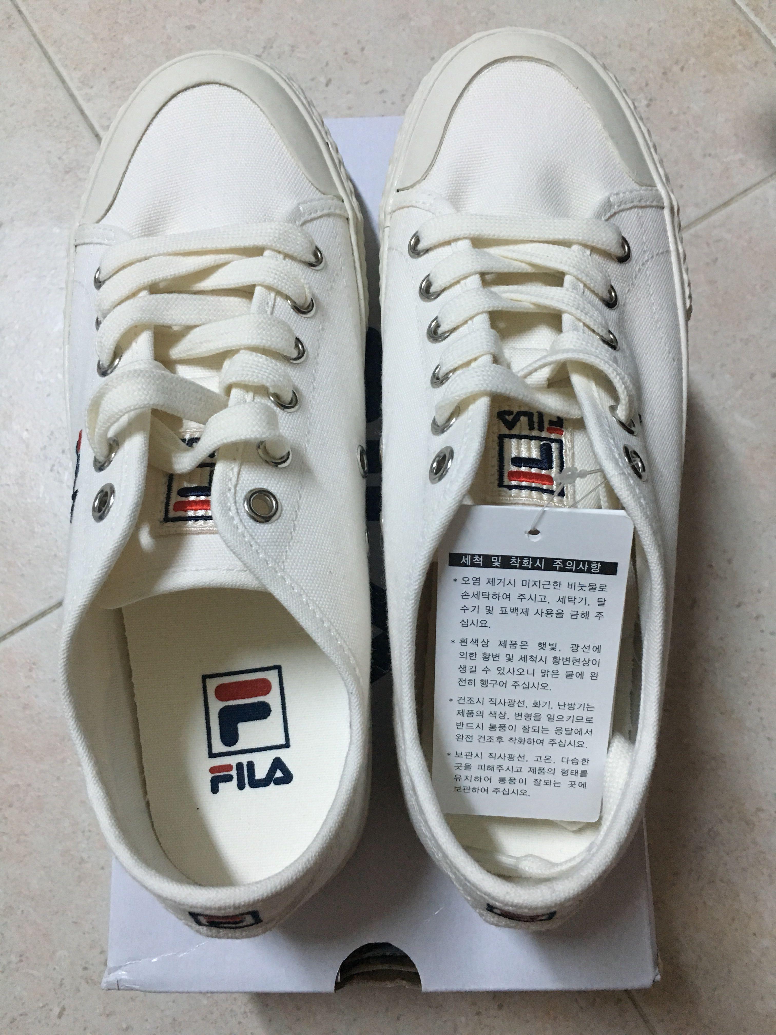 5107e239bf Fila classic kicks B (off white )
