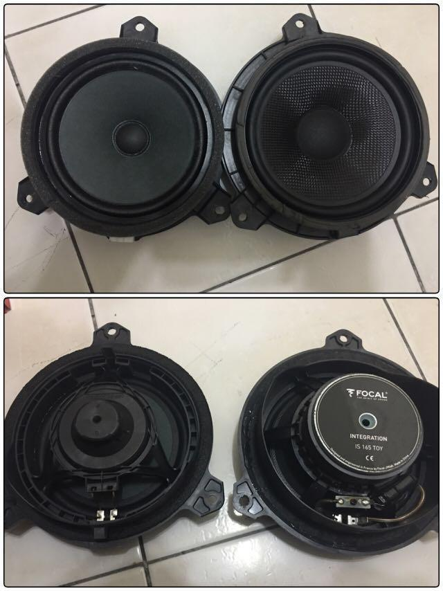 """Focal Speaker 6 5"""" and coaxial 6x9 for Toyota Altis G11, Car"""