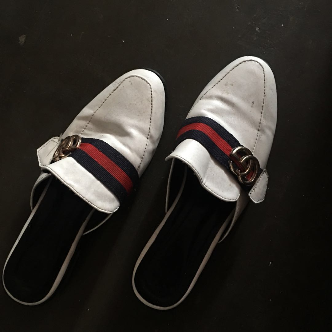 95a23ab0b3d3 Gucci inspired slides