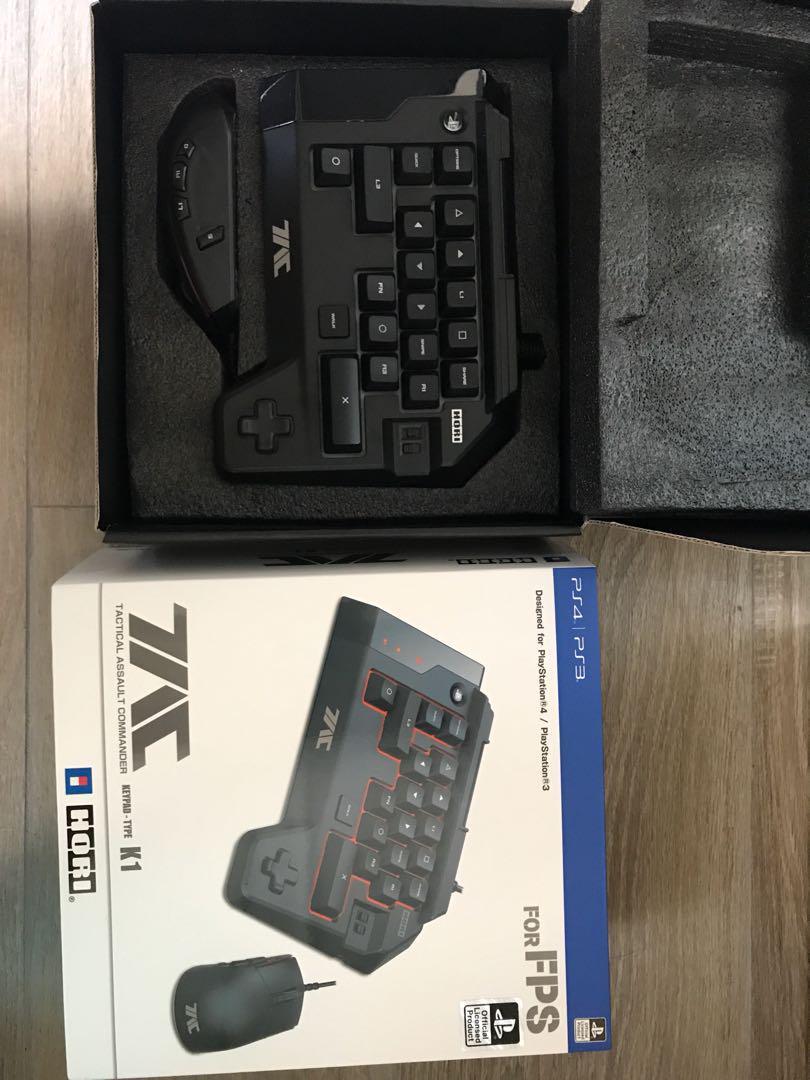 誠放Hori K1 PS3 PS4專用keyboard 9成新