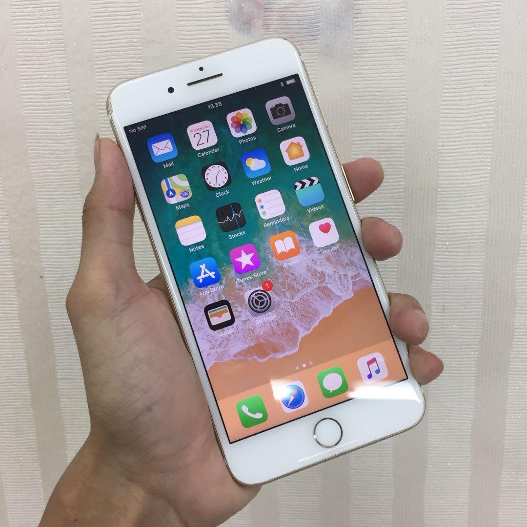 Iphone 7 Plus 128gb Gold Termurah Bekas Garansi Internasional Apple Red 1 Tahun Elektronik Telepon Seluler Di Carousell