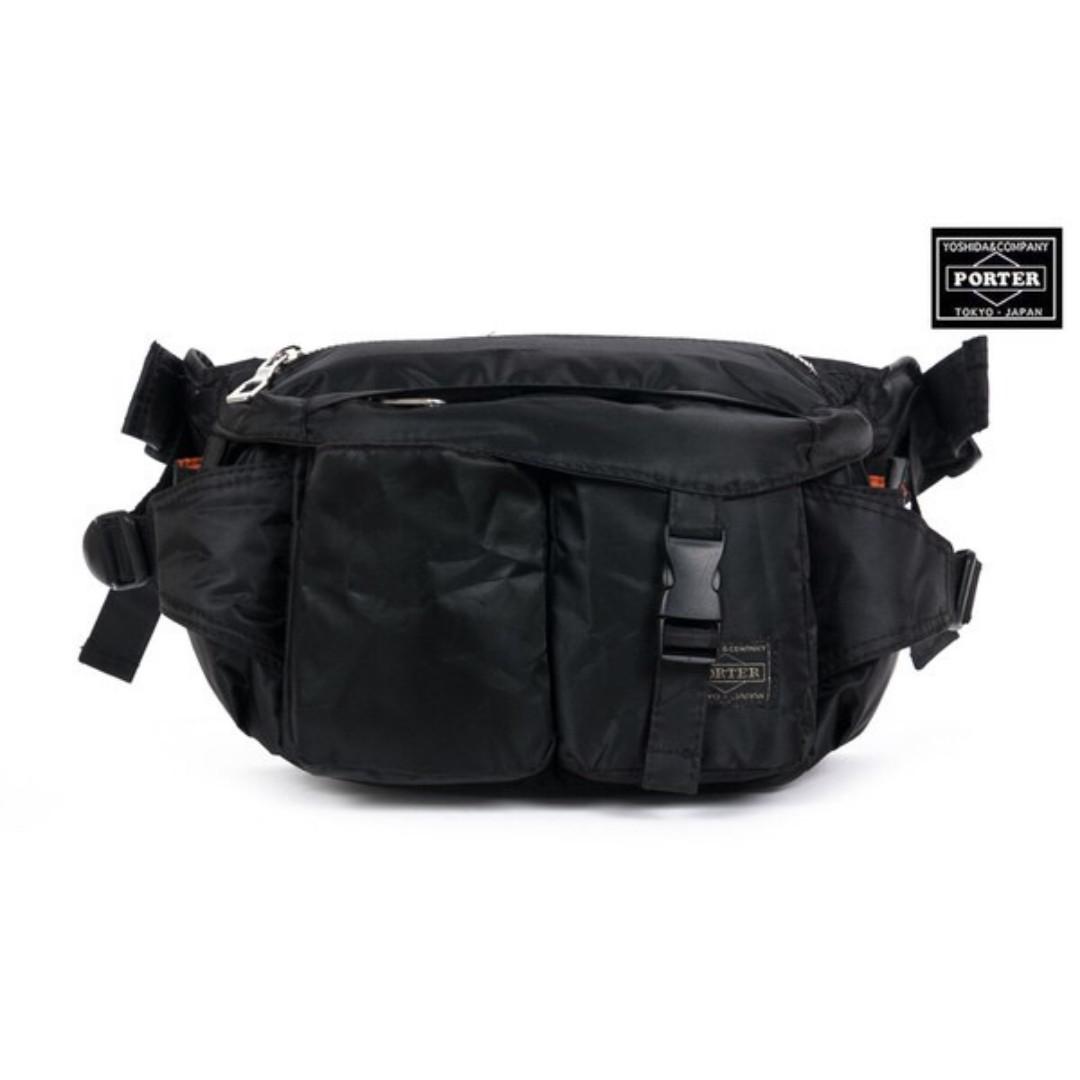 Japan Yoshida Porter Waist bag with clip shoulder bag  Waterproof ... c3a220bb508b8