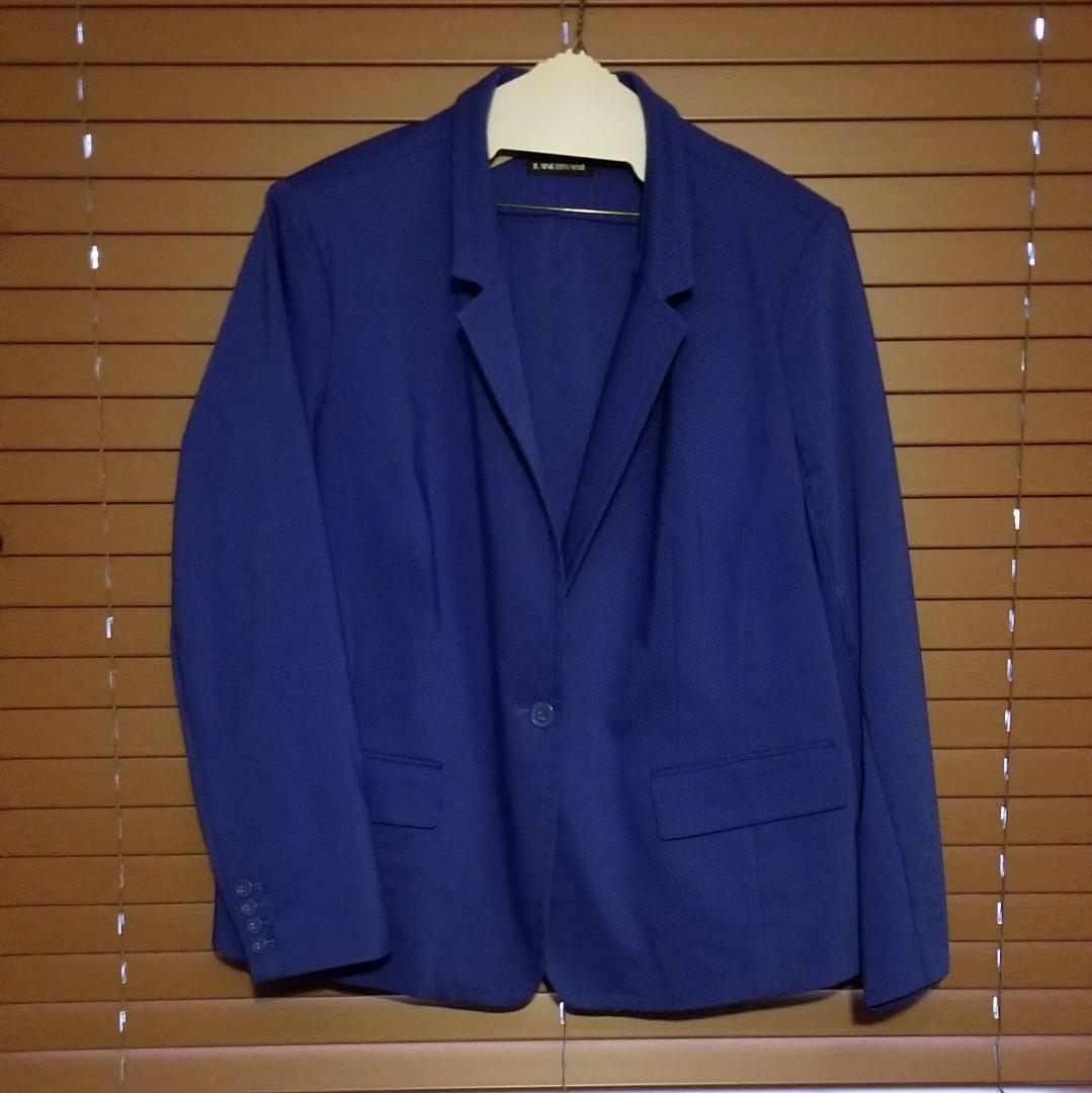 Lane Bryant Royal Blue Blazer