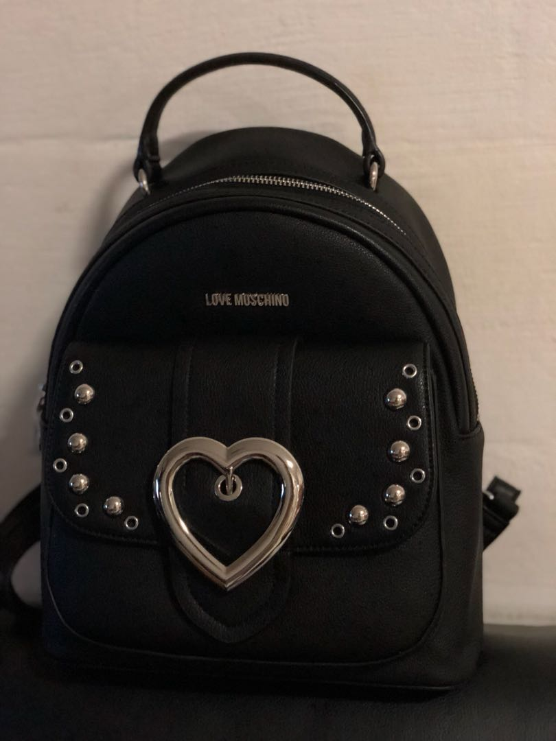 5690927c5a Love Moschino backpack, Women's Fashion, Bags & Wallets, Backpacks ...