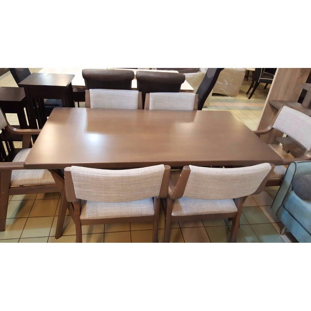 ea421656a84f Marcus Dining (1+6), Furniture, Tables & Chairs on Carousell