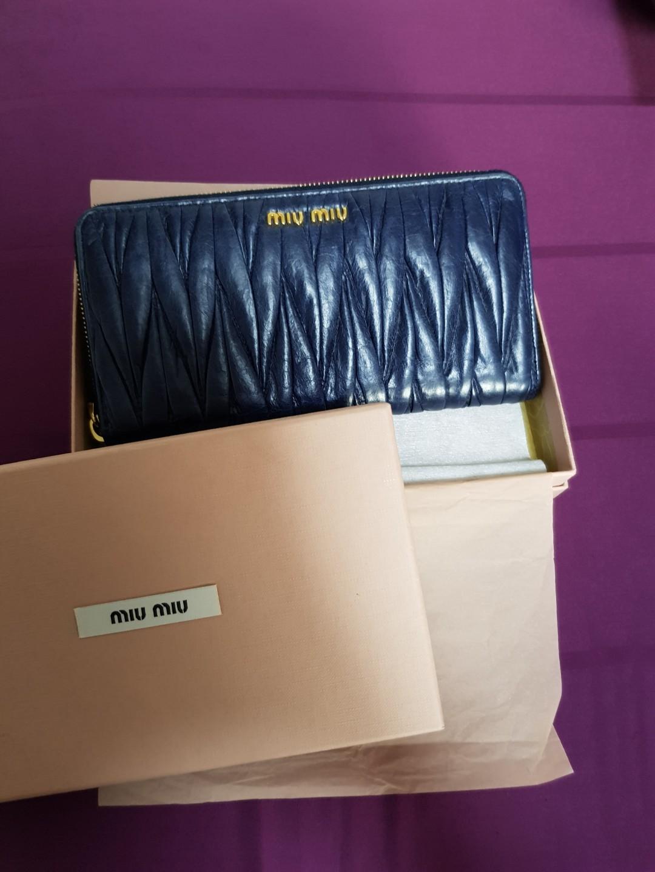 352e92aba2af Miu Miu Wallet, Luxury, Bags & Wallets, Wallets on Carousell