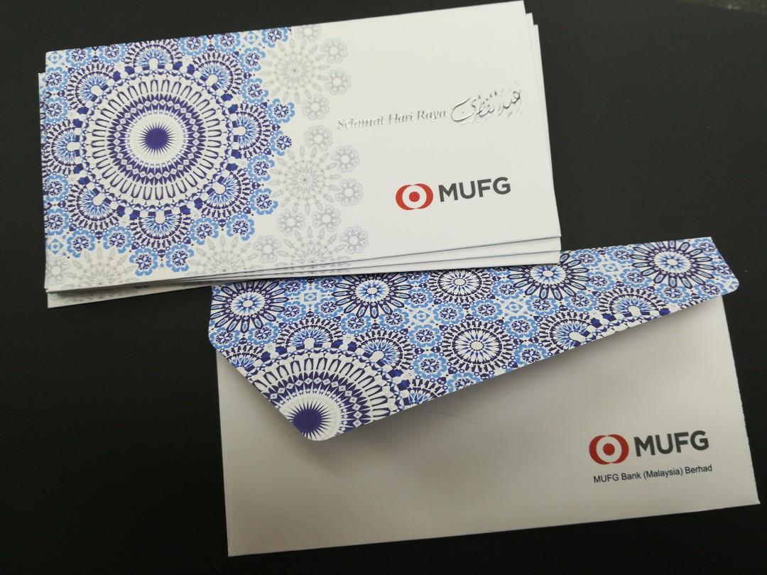 Mufg Bank 2018 Sampul Duit Raya Design Craft Others On Carousell