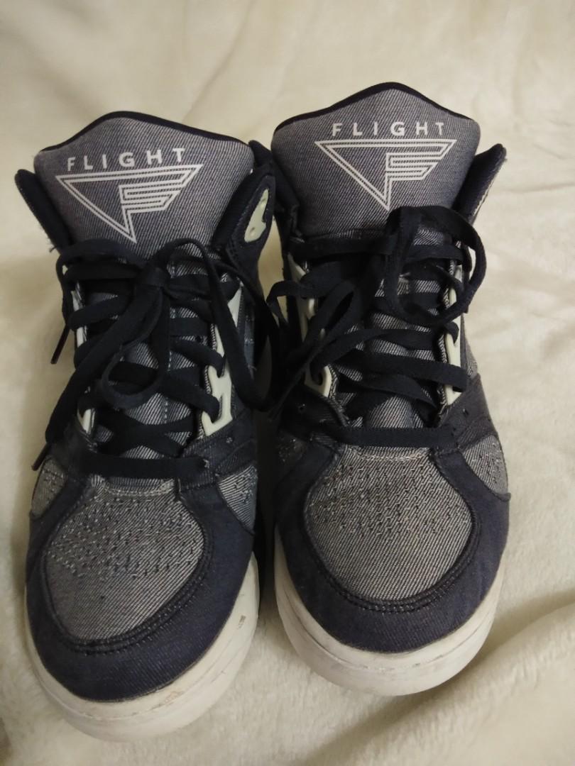 "huge discount ad258 1f794 NIKE AIR FLIGHT LITE LOW ""DENIM"", Men s Fashion, Footwear, Sneakers ..."