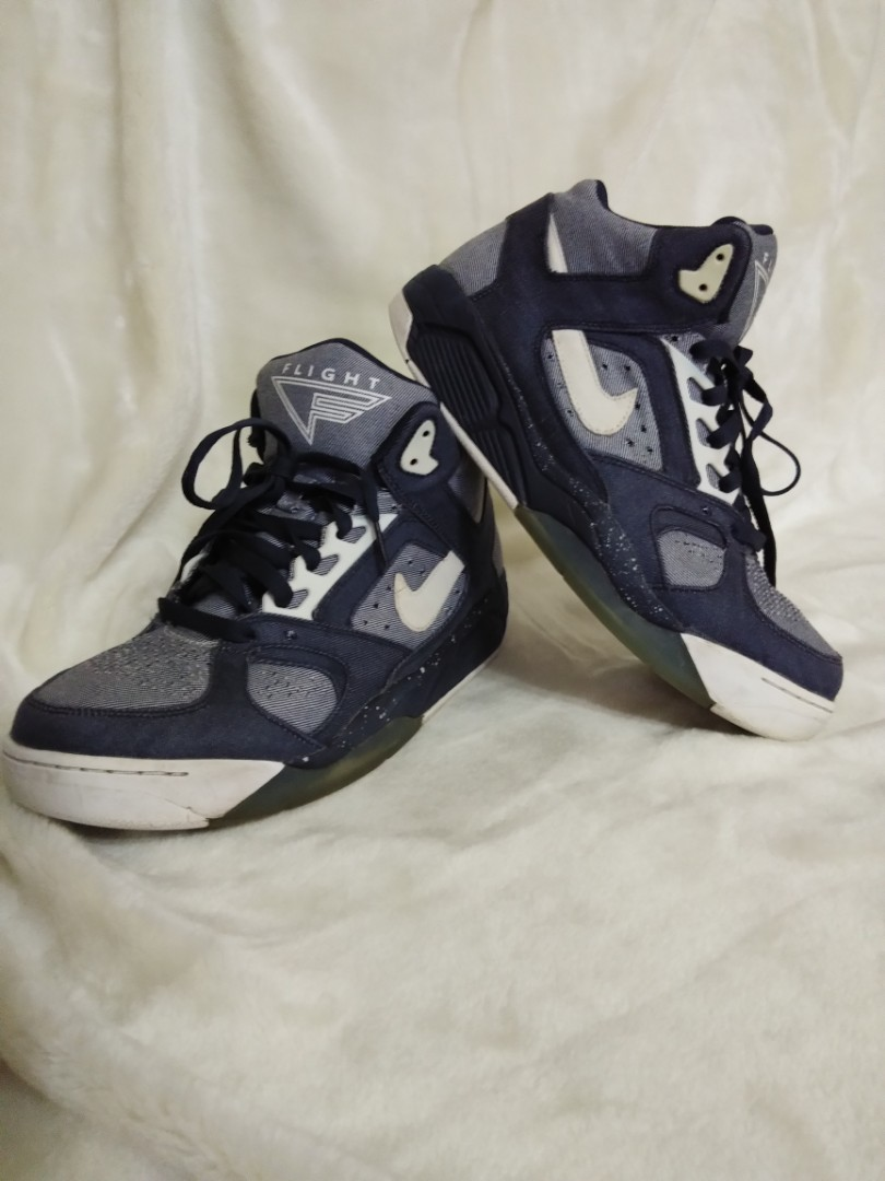 """new concept aa027 5cc2a NIKE AIR FLIGHT LITE LOW """"DENIM"""", Men s Fashion, Footwear, Sneakers on  Carousell"""