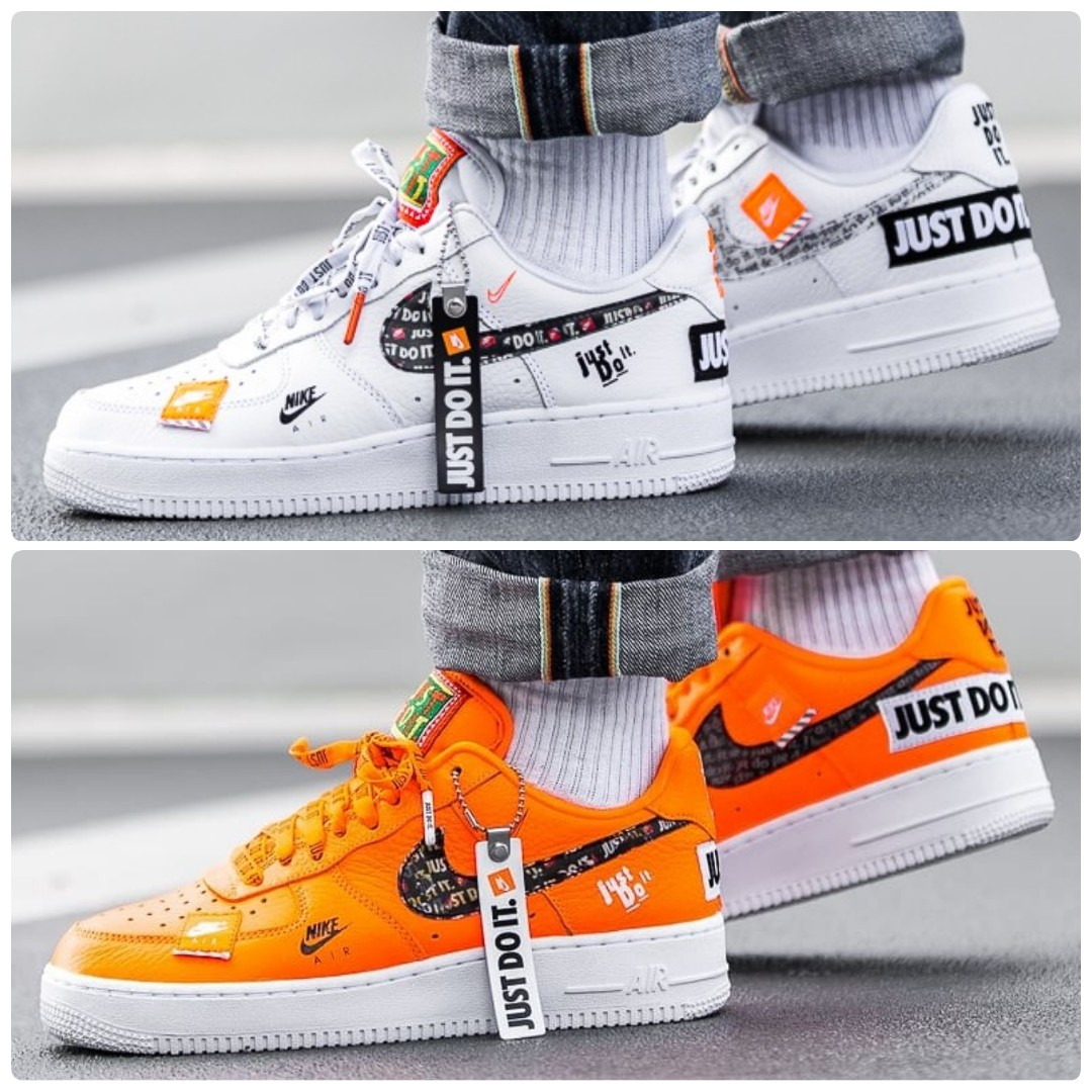 online retailer c1b8e 76bf9 Nike Air Force 1 Just Do It Pack