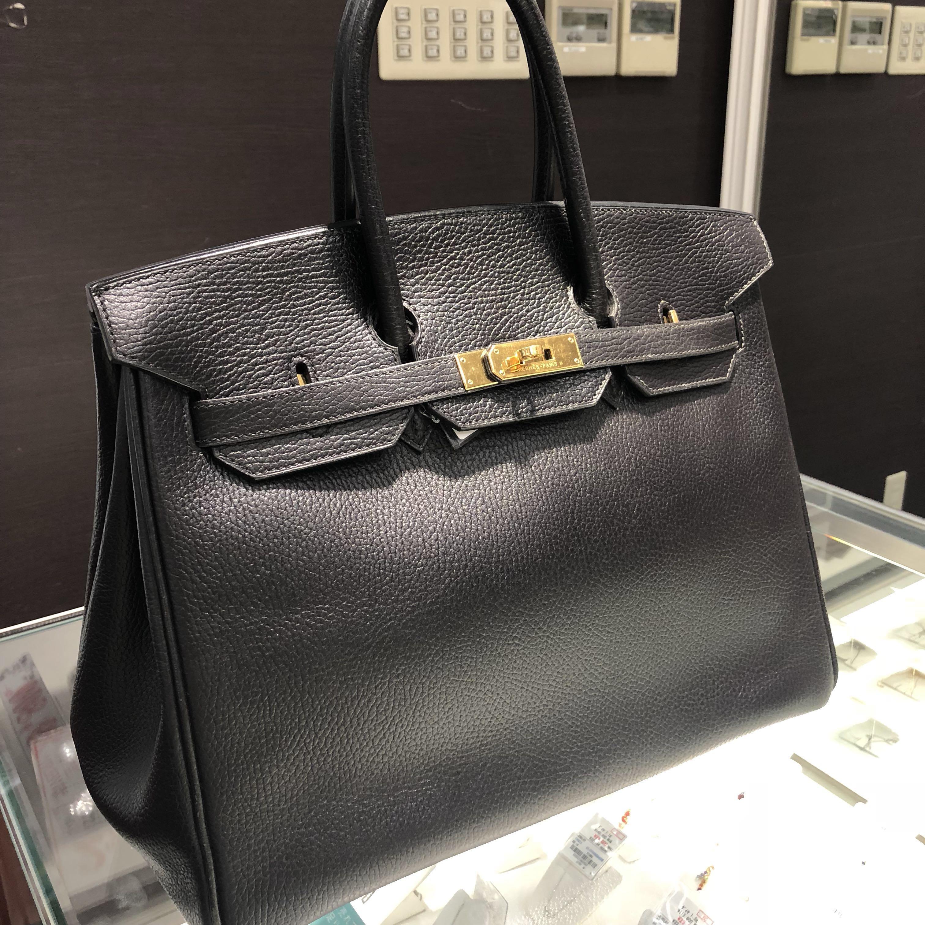 NOW IN JAPAN  Authentic Hermes 35 Birkin Epsom Leather (not box calf ... f1c33f7cbe8fb