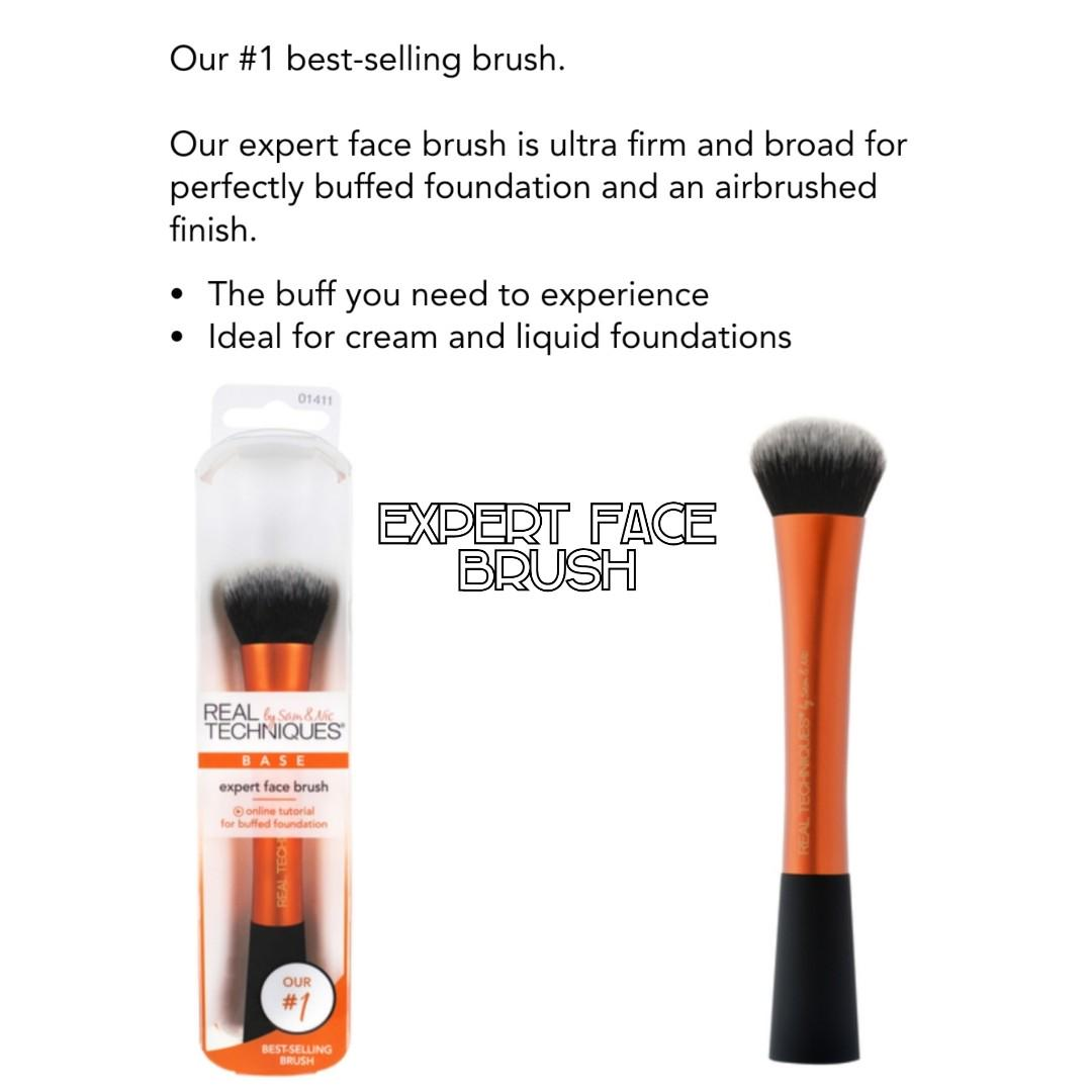Real Techniques Makeup Brushes