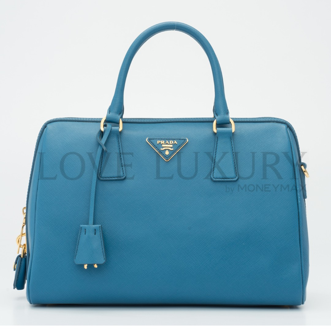 26282755d5 Preowned Prada, Saffiano Lux Boston Bag - BL0823 (POB0006191 ...