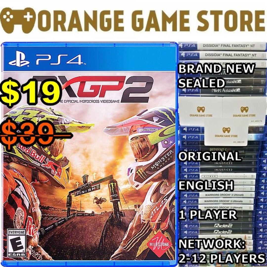 Ps4 Mxgp 2 Toys Games Video Gaming On Carousell Game Mx Gp Photo