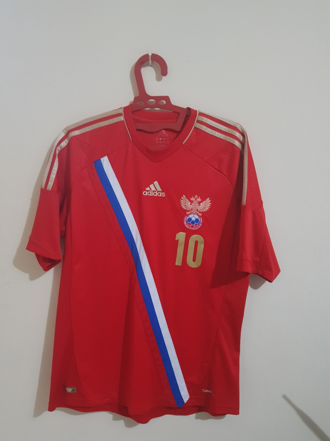 9e9ffb15 Adidas Russian 2012 Home Jersey, Men's Fashion, Men's Clothes on ...