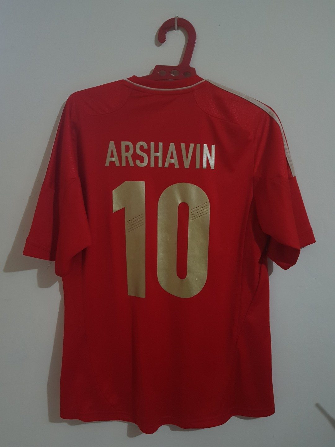 2fcc0265 Adidas Russian 2012 Home Jersey, Men's Fashion, Men's Clothes on Carousell