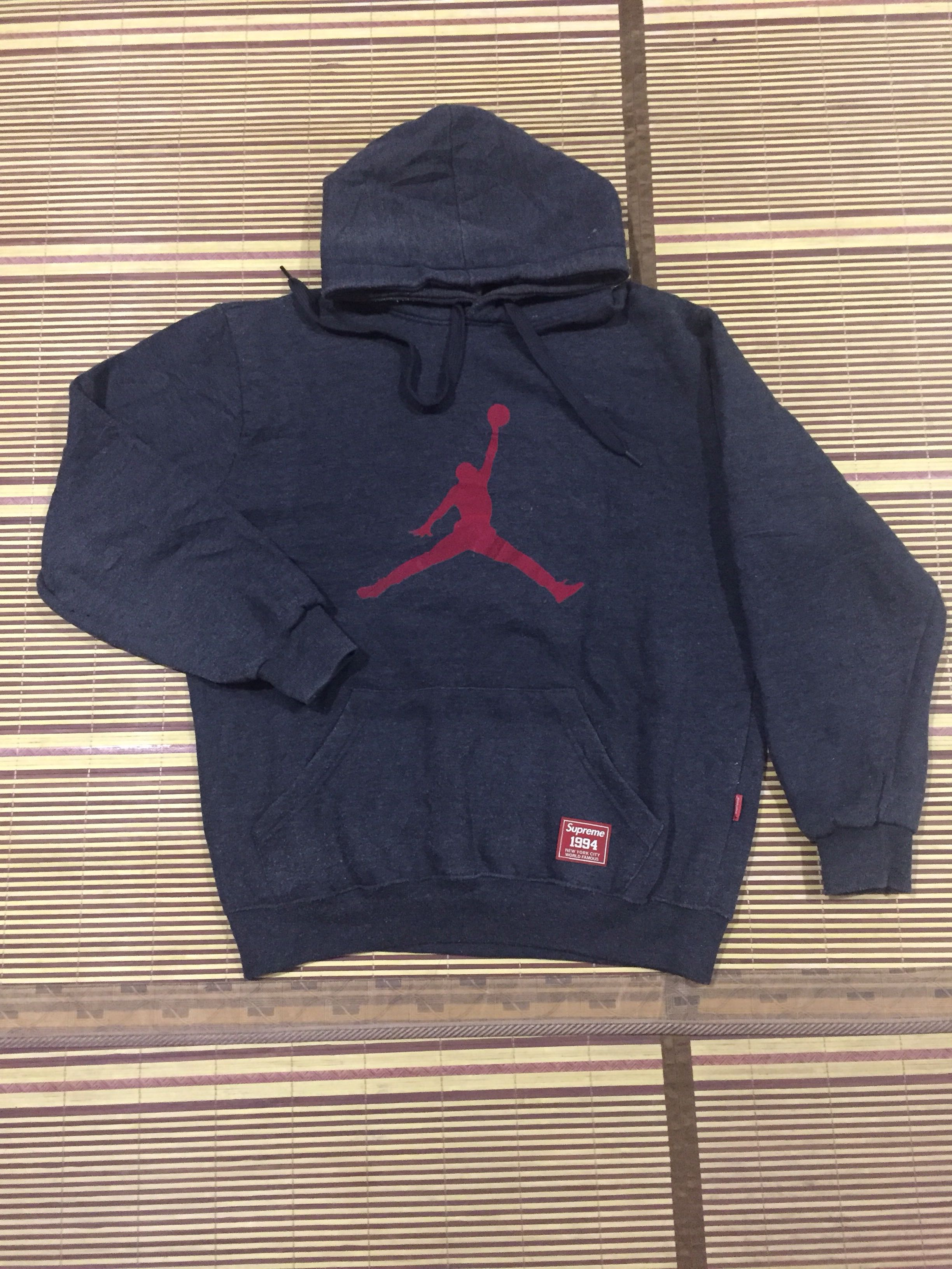 niższa cena z San Francisco klasyczne buty Supreme Air Jordan Hoodie