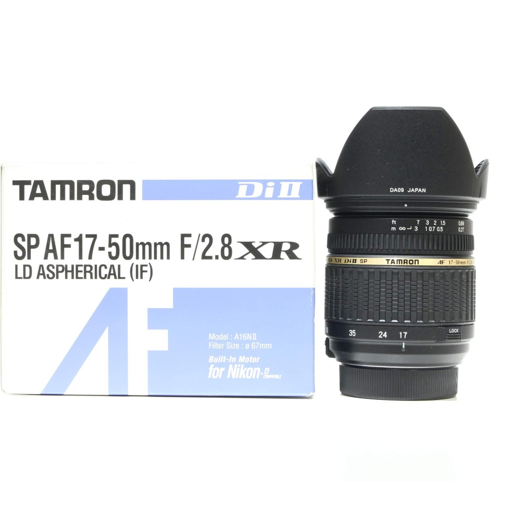Tamron Af 17 50mm F28 Xr Di Ii Ld If Lens Nikon Mount For Canon Sp F 28 Aspherical Photography On Carousell