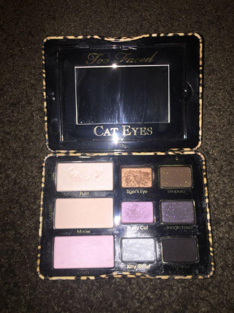 Too Faced Cat Eyes eyeshadow and liner collection