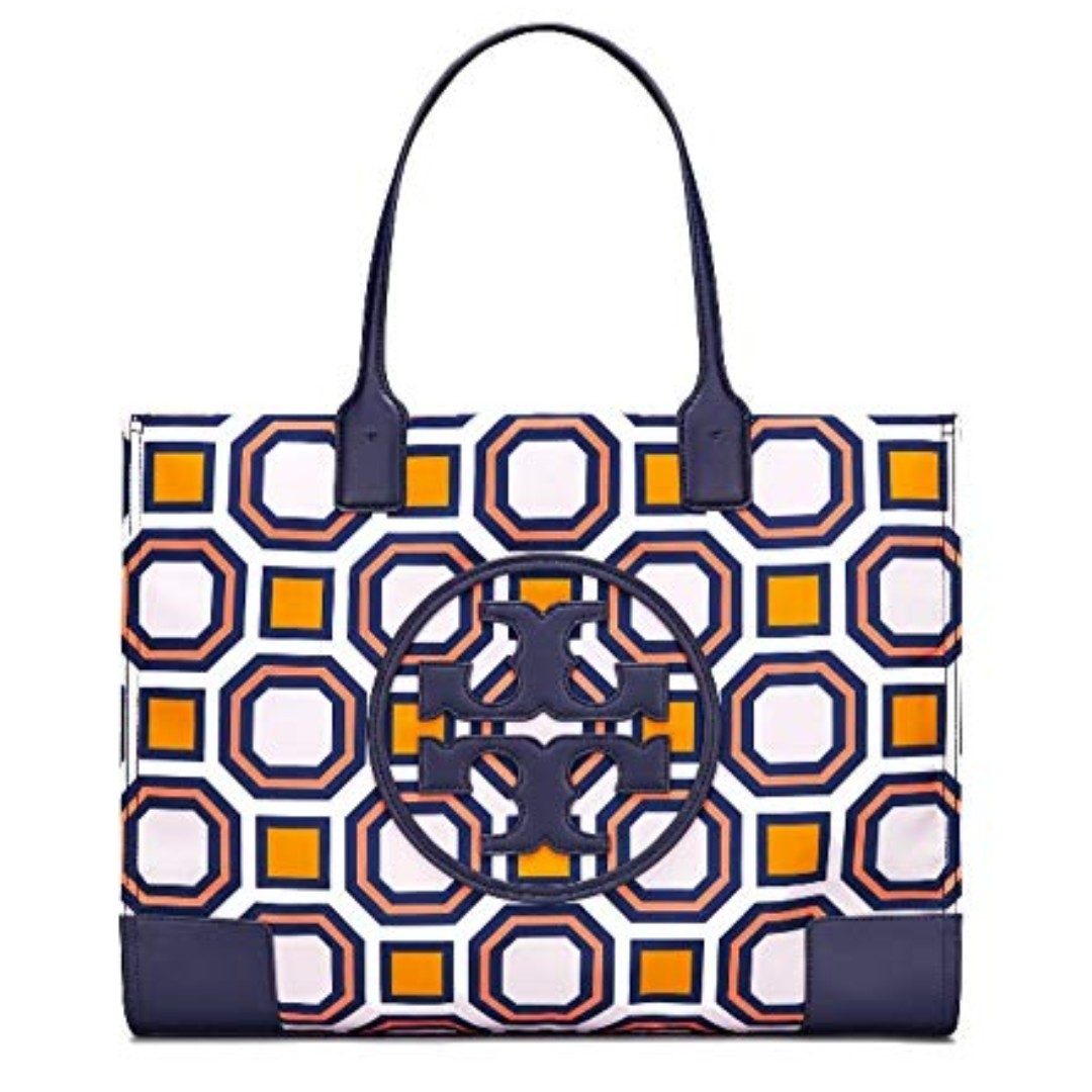 1f531d5e7ca4 Tory Burch - Ella Octagon Square Print Nylon Tote Bag