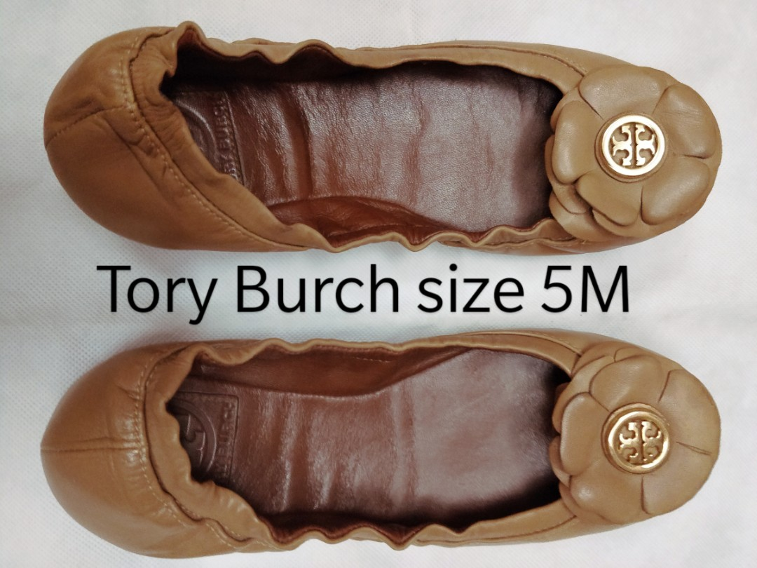 ab5bb4517 Tory Burch leather flats size 5M