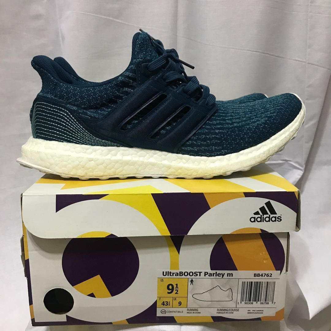the latest e56a5 8b452 Ultraboost 3.0 Parley (Night Navy)