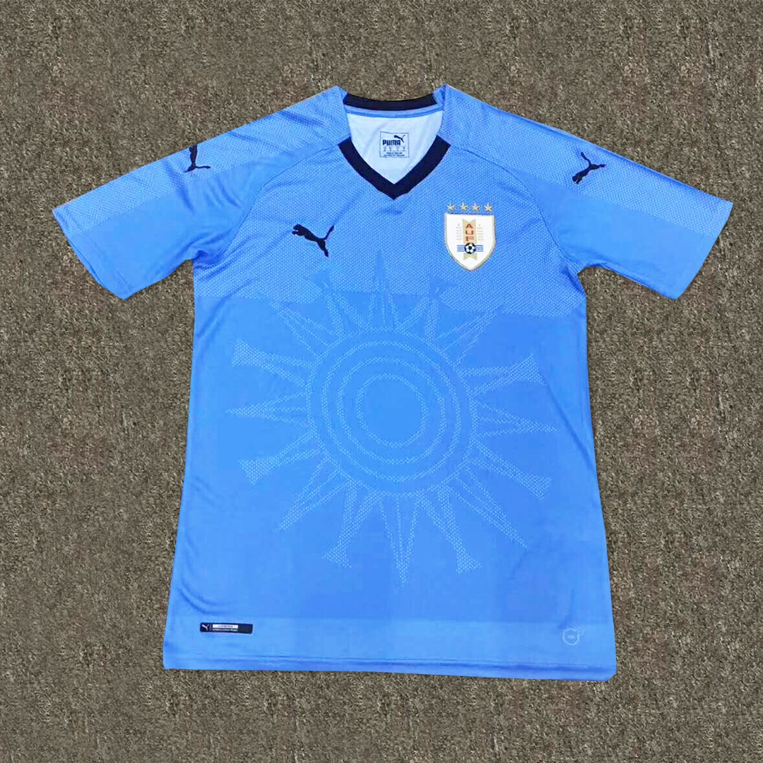 a02f30efa Uruguay World Cup Home Kit 2018